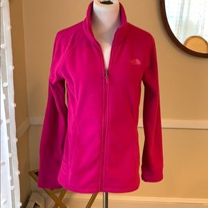 The North Face Women's Medium Pink Fleece EUC